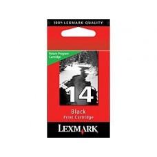 Lexmark tintapatron 14, fekete